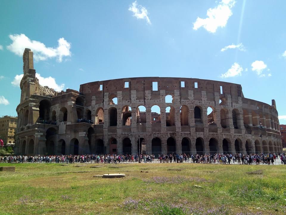 vacanta la roma colosseum