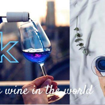 vinul albastru