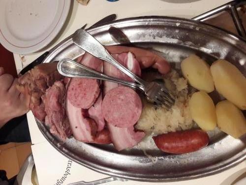 varza gatita in stil alsacian