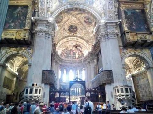 city break bergamo santa maria maggiore