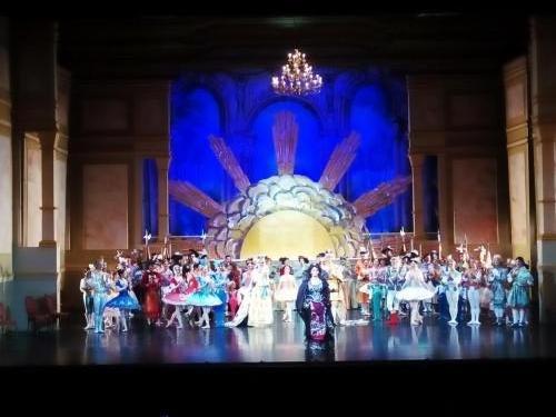 frumoasa din padurea adormita - opera nationala bucuresti