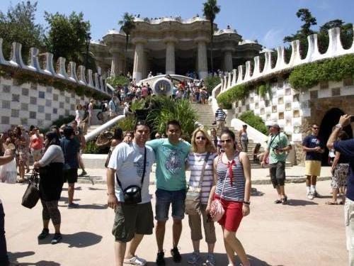 Barcelona Parcul Guell