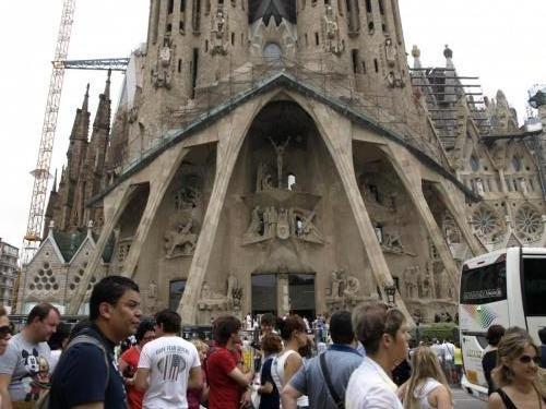 Barcelona Sagrada Familia 148